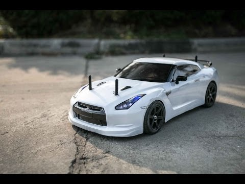Tamiya: 1/10 : Ta05 : GTR R35 Review : brushless 8.5t : RC Thailand