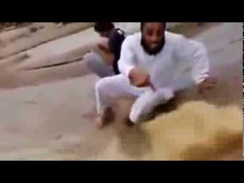 Tanda terbaru kiamat  terpancar air di bumi Arab