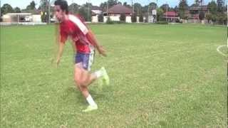 How To Dribble Like Gareth Bale Football / Soccer Tutorial