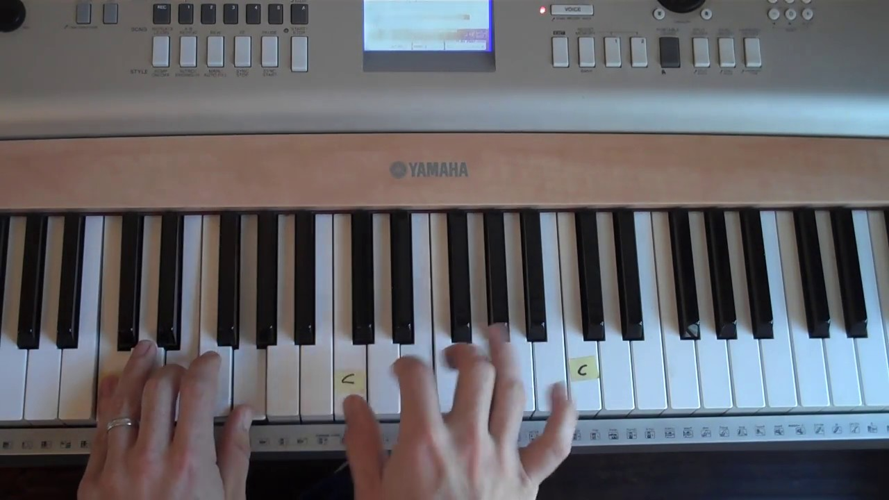Easy to play piano 10 000 reasons bless the lord matt redman
