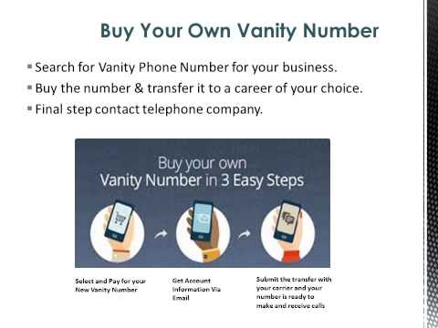 Benefits of Local Vanity Numbers