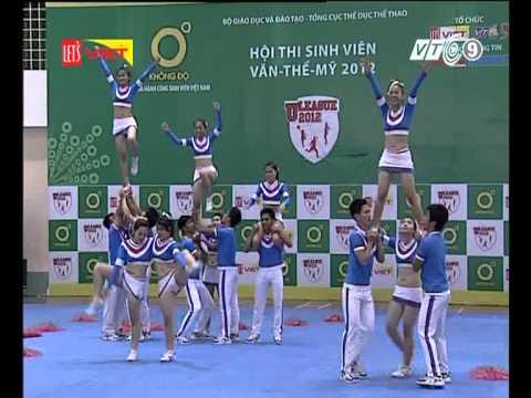 Cheerleading ĐH Sư Phạm ĐN 25/11/2012