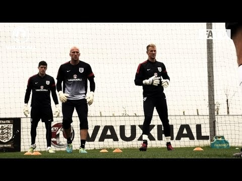 FATV SLOMO CAM: Hart, Ruddy and Forster on England duty