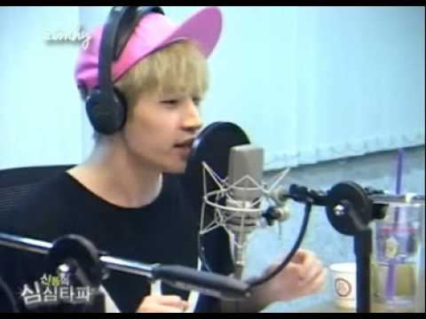 130618 Henry Rap to Intro Album Ryeowook Super Junior Shindong SSTP