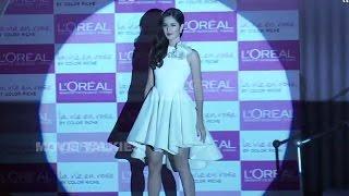 Katrina Kaif, Uncut Videos, Loreal Paris Event, Bollywood Heroine, Lipstick