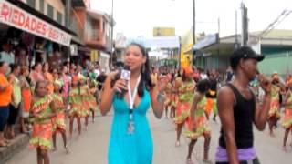 Luisa Ortega Carnaval De Bluefields 2012 /// TN8 Canal 8