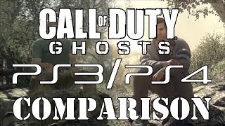 Call Of Duty: Ghosts PS3/PS4 Comparison