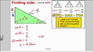Trigonometry 1 (GCSE Higher Maths)- Tutorial 15