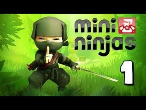 primeiras impressões - mini ninjas 1