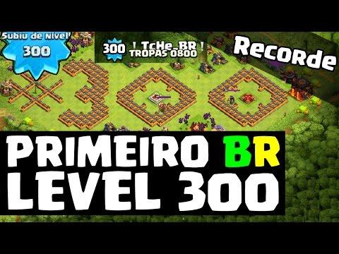 PRIMEIRO BRASILEIRO LEVEL 300 - CLASH OF CLANS