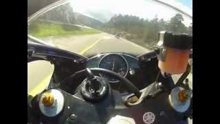 Lamborghini Chase Led By Motorcycle