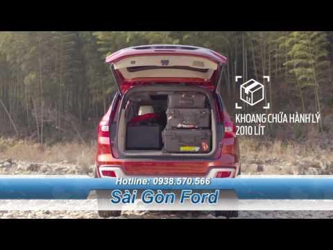 Khả năng vận chuyển của Ford Everest