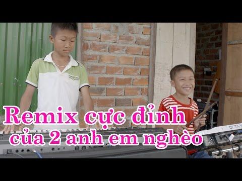 'Em của ngày hôm qua' cực chất của 2 thần đồng nhạc sống - Phong Bảo, Đại Phong [Karaoke]