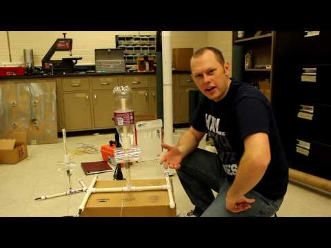 How to build a water bottle rocket launcher: Part 2 of 2