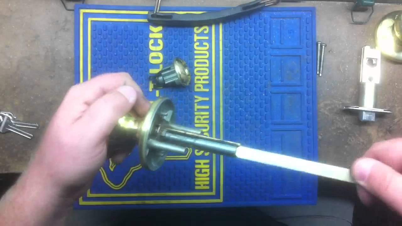 Kwikset Rekey Explained Youtube