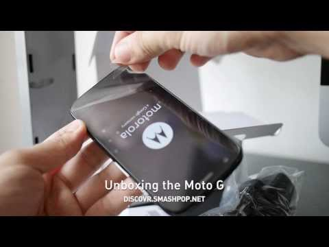[Unboxing] Moto G in Malaysia