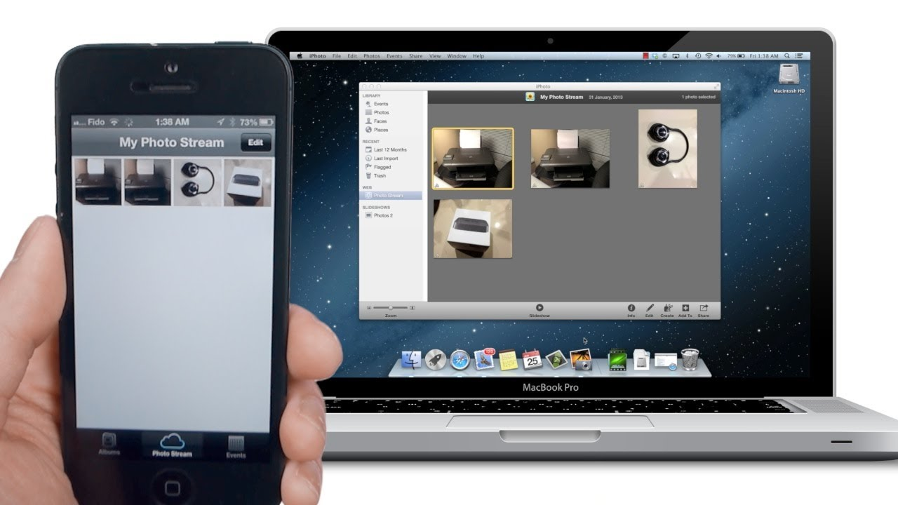how to get photos from iphone to mac without icloud