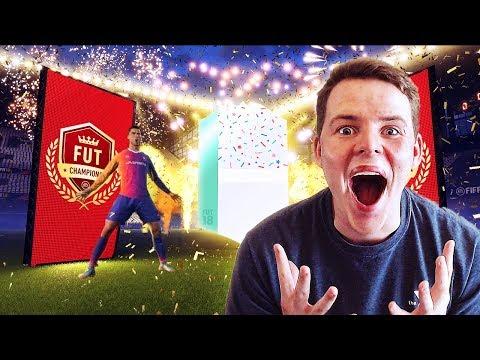 OMG RW RONALDO!!🎉😍- OUR INSANE NEW FUT CHAMPIONS SQUAD! FIFA 18 Ultimate Team