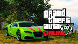 GTA 5 Online: Truffade Adder (Bugatti) Car Spawn Location
