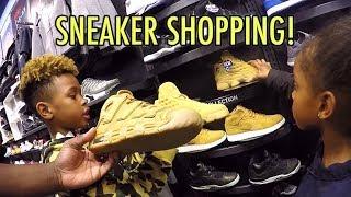 Tekkerz Kid goes Sneaker Shopping | Nike Jordan Sneaker Collection