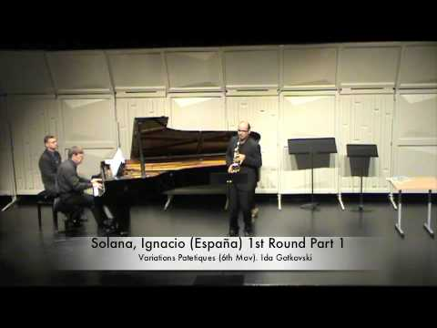 Solana, Ignacio (España) 1st Round Part 1