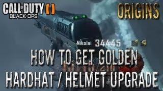 Black Ops 2 Zombies Origins How To Get Golden Helmet