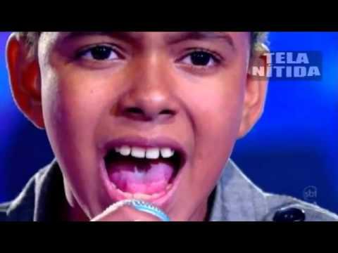 JOTTA A. - Agnus Dei ♪ Alleluia Alleluia - (Raul Gil 13/08/11 Jovens Talentos Kids Oficial HD)