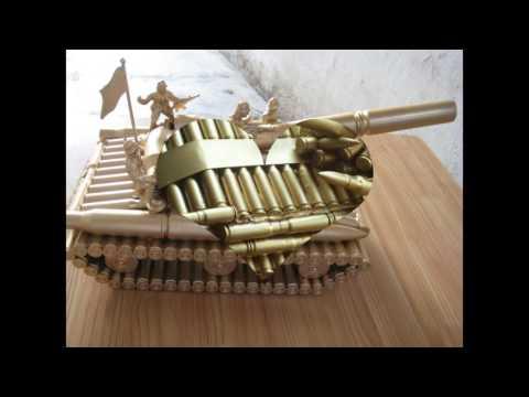 Đồ lưu niệm | Quà lưu niệm xe tăng làm bằng vỏ đạn - quà tặng ý nghĩa | Sỉ & lẻ rẻ nhất