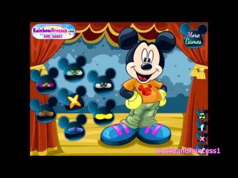 Disney Mickey Mouse Dress Up Games - Girl Games