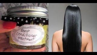 ♥ DIY Natural Homemade Deep Conditioner At Home Hair