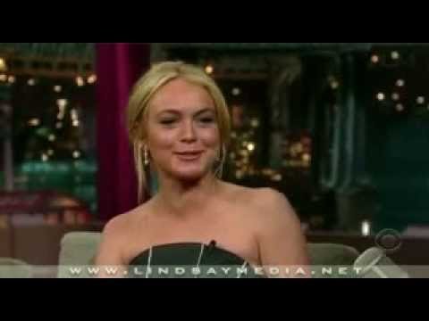 lindsay lohan interview david letterman 2007