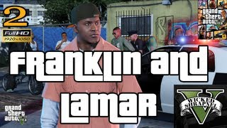 GTA V Franklin and Lamar Mission EP2 Let's Play Walkthrough HD 1080p