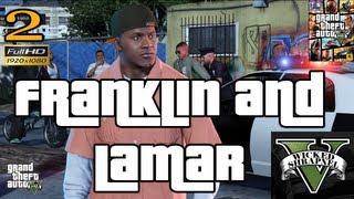GTA V Franklin and Lamar Mission EP2 Let's Play Walkthrough HD 1080p