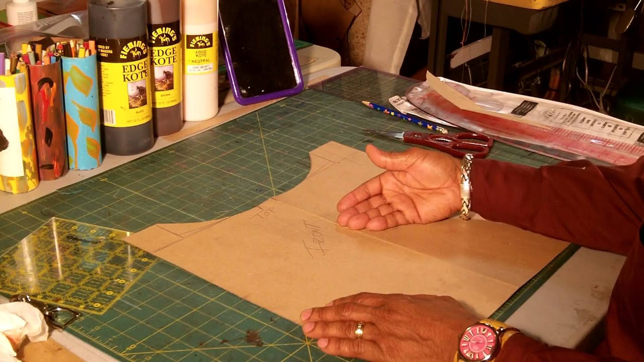 Handbag Lining Material : How to make a leather tote bag with fabric lining part