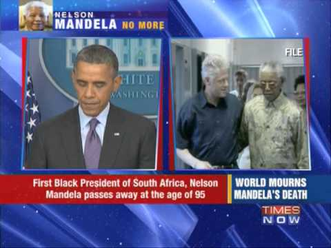 World mourns Nelson Mandela's death
