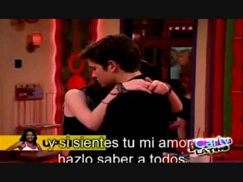 iCarly iGoodbye Carly & Freddie Kiss (HD) - YouTube