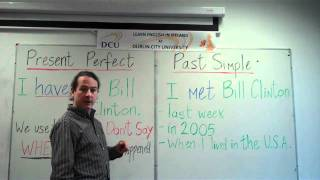 Past Tense, Which form should you use? Present perfect or past simple?