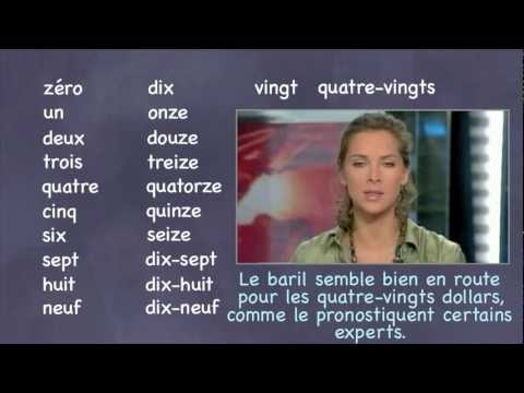 French Number Practice with Movie Clips
