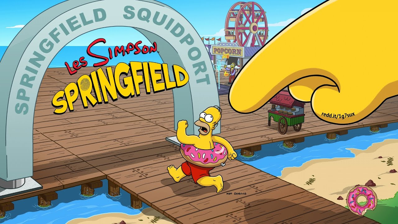 hack android les simpson springfield v 4 3 0 donuts argents
