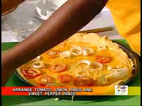 Pumpkin Pizza - Grace Foods Creative Cooking