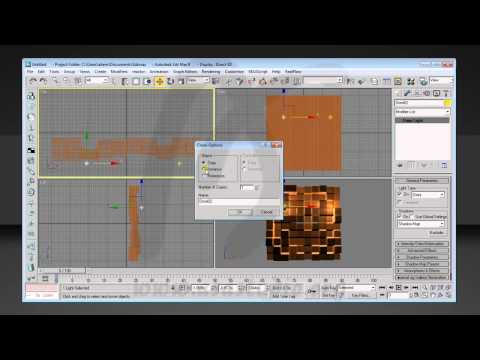 Membuat Animasi dengan Displace Modifier, After Effects 3DsMax Tutorial