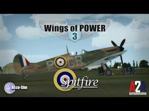 A2A Simulations Wings of Power 3 Spitfire (Official Video)