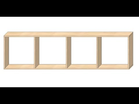 Jak zrobić meble pod wymiar #2 - plan półki lub regału
