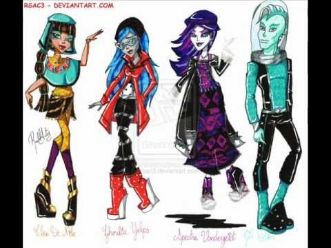 Clawdeen Wolf Ghouls Rule and Drawings DRAWN by Rsac3