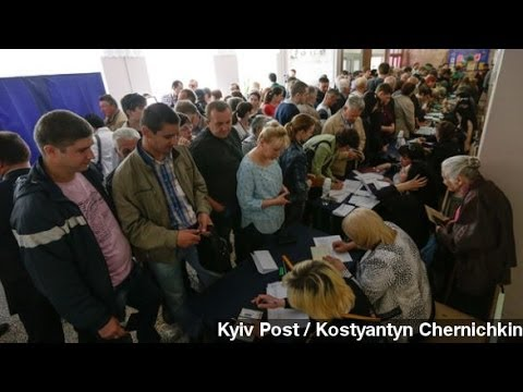 Eastern Ukrainian Regions Hold Referendum On 'Self-Rule'