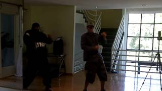 Tari Mannello training / mini choreo session with Kennis Marquis 2011