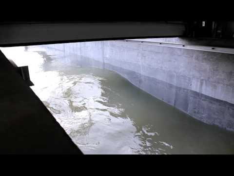 Laboratoire hydraulique environnemental en mouvement