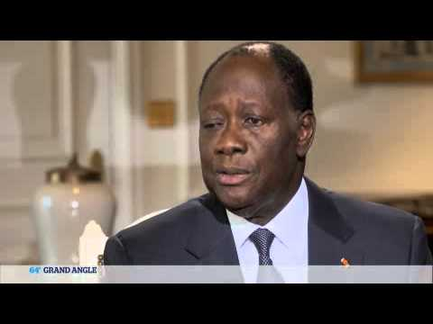 Alassane Ouattara, invité du 64 minutes de TV5MONDE (6 décembre 2013)