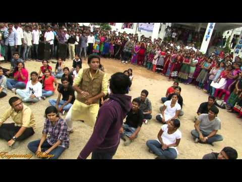 FlashMob at Sphoorthy Engineering College