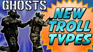 "Call of Duty GHOSTS: NEW TROLLTYPES (Call of Duty Ghosts Multiplayer Gamplay HD) ""New Gametypes"""